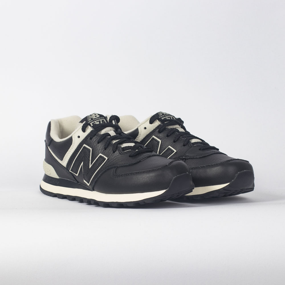 new balance 574 leather