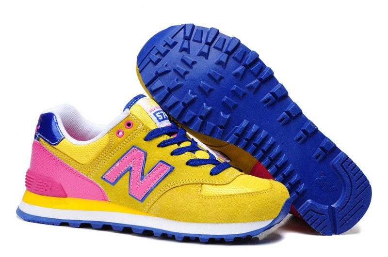 new balance gialle fluo
