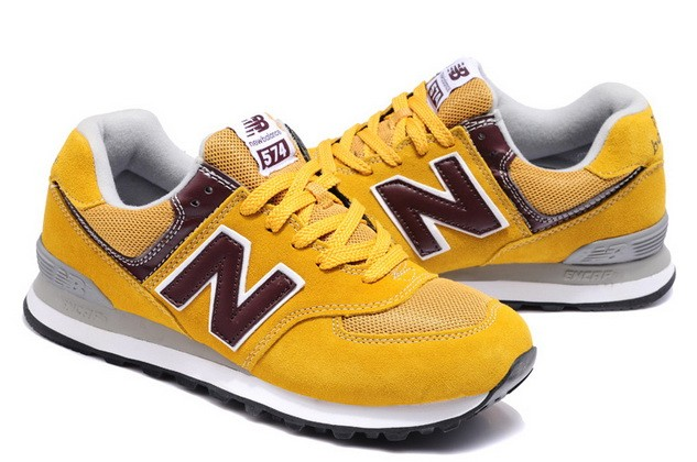 new balance donna gialle